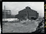 Republic Steel Corporation furnace under construction