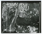 Steel mill aerial photograph