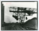Indiana Harbor coke plant coal bridge photograph