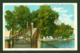 Indian Lake Paradise Isle Bridge Postcard