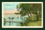Indian Lake Shore Path Postcard