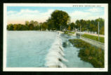 Indian Lake Waste Weir From West Postcard