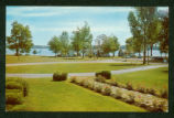 Indian Lake View From Wicker Hotel Postcard