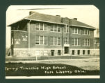 East Liberty Perry Twp. High School Postcard