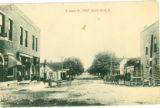 West Mansfield East Center Street Postcard