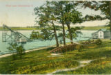 Silver Lake Water Slide Postcard