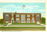 West Liberty High School Postcard
