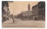 Bellefontaine Columbus Avenue Detroit Street SE Postcard