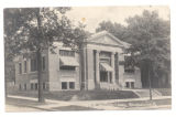 Bellefontaine Carnegie Library 1920 Postcard