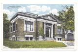 Bellefontaine Carnegie Library 1917 Postcard