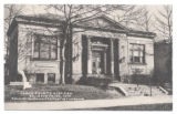Bellefontaine Logan County Library Postcard