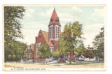 Bellefontaine Methodist Church Postcard