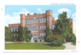 Bellefontaine High School Postcard