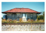 West Liberty, Ohio NYC Railroad Depot Photograph