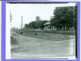 Huntsville, Ohio Railroad Depot Photograph