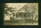 Belle Center, Ohio Victorian House Postcard