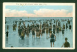 Indian Lake Bathers Postcard