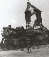 AC & Y Engine 403 Loading Coal