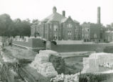 Construction of the New London Elementary School