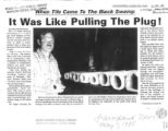When Tile Came to the Black Swamp it was Like Pulling the Plug Farmland News May 1985