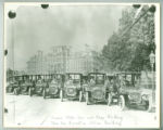 Automobile fleet at Washington, D.C., State, War and Navy Building