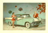 1956 Ford Automobile Playable Postcard Record