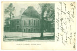 Clyde Library Postcard 1906