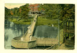 Oak Ridge Hotel and Mineral Springs, Greenspring, O., Postcard 1916
