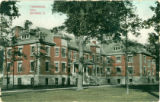 Defiance College Trowbridge Hall postcard