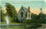 Riverside Memorial Chapel postcard