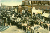 Fall Festival Parade postcard