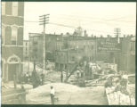 Miami and Erie Canal construction