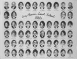 Cory-Rawson High School Class of 1963 composite photograph