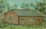 Hancock County Jail drawing (first structure)