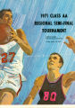 Rossford High School Basketball 1971 Class AA Regional Semi-Final Tournament