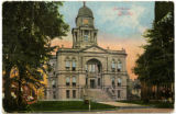 Postcard Courthouse 3 Tiffin, Ohio