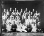 Bluffton High School Class of 1921 photographs