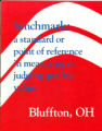 Bluffton Benchmark booklet