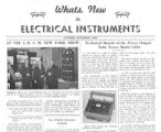 What's New in Electrical Instruments - 1936/10-11 issue