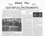 What's New in Electrical Instruments - 1937/07-08 issue