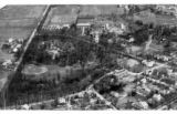 Bluffton College aerial photograph