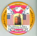 Bluffton Sesquicentennial Celebration pin-back button