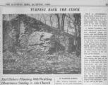 Siddall lime kiln photograph