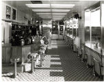 Interior view of White Castle number 29, St. Louis, Missouri