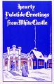 White Castle Restaurant Christmas Poster