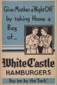 White Castle Poster Give Mother A Night Off""
