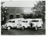 White Castle delivery trucks, Newark, New Jersey