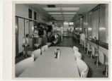 Interior view of White Castle number 1, Miami, Florida.