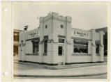Exterior view of White Castle number 2, Detroit, Michigan