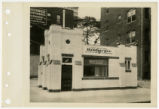 Exterior view of White Castle number 4, Detroit, Michigan